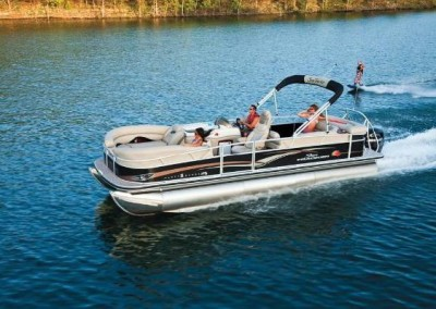 "2004 Sun Tracker ""Party Barge"" 22 Regency I/O Pontoon Boat"