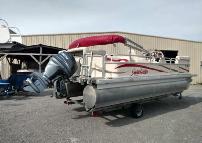 2008 Sweetwater 22ft Pontoon Boat
